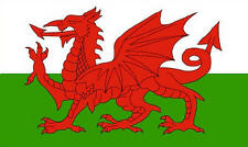 Premium Quality 5Ft X 3Ft 5'X3' Flag Welsh Dragon Wales