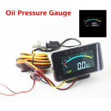 12v/24v Truck Car Digital Oil Pressure Gauge Engine Oil Pressure Meter Monitor