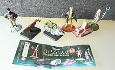 TOMY ATLANTIS THE LOST EMPIRE FIGURE COLLECTION SERIE COMPLETA EXTRA KINDER
