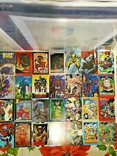 Vintage 1991-95 Marvel Universe Series 2 Trading Cards, DC Trading Cards LP-NM