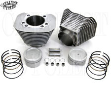 Sportster Conversion Kit 883 to 1200 Silver Cylinders 9.5:1 Pistons fits 2004-UP