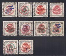 Honduras  1955  Sc # C231-40  Rotary  MNH  (43208)