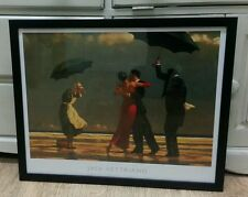 Jack Vettriano 'The Singing Butler' framed print stunning dancers