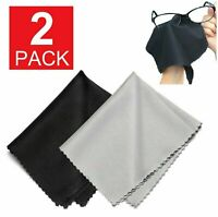 2 pieces Premium MICROFIBER cloth  Eyeglass Cleaning Camera LCD Screen Sunglass