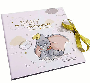 ~❤️~Disney DUMBO My First Year Baby Record Book Journal Photo Album BRAND NEW❤️