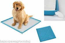 SILICONE PUPPY PEE PAD HOLDER Dog Pet Housebreaking HouseTraining Tray Pan *NEW