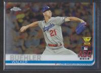 Topps - Chrome Update 2019 - # 89 Walker Buehler - Los Angeles Dodgers