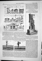 Old 1883 Aesthetic Rolling Stock Woodhead Steam Hammer Brownhills Sew Victorian