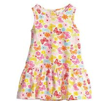 H M Girls Dress Butterfly Flower Ladybug Multi Color Size 3-6 Months