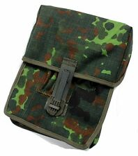 UNISSUED GERMAN ARMY  WEBBING POUCH DOCUMENT CASE in FLECKTARN CAMO