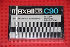 MAXELL UD  90  VS. III    BLANK CASSETTE  TAPE  (1) (SEALED )