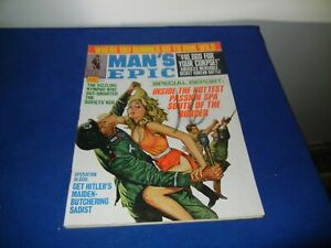 VINTAGE PULP MAGAZINE -MAN'S EPIC-1970-SEE PICTURES