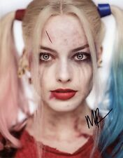 Suicide Squad Film Promotional Hand Signed Margot Robbie Photo 10x8 !