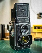 Rolleicord Iv Tlr 6x6 Medium Format Xenar 75mm f3.5 (Serial # 1358727)