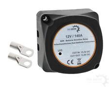 12V BSR VSR Vollautomatisches Batterie Trennrelais 140 Ampere + 2 Ringösen KFZ