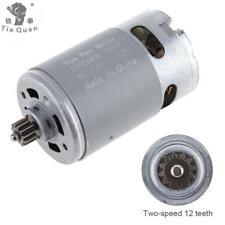 Motor de RS550 12V 13500RPM DC para el destornillador eléctrico del taladro