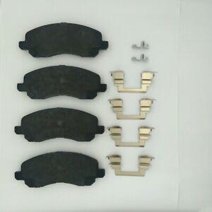 Disc Brake Pad Set-TSS Ceramic Pads Front Dash 4 Brake TD866CH