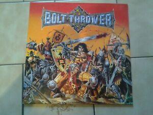 BOLT THROWER - Warmaster UK Death Metal Demigod Sorcery Malevolent Creation