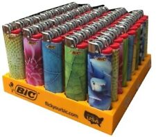 Bic NATURE Full Size Lighters 2017 /50 pieces Per tray