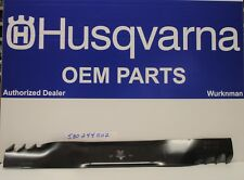 Genuine OEM 580244002 Husqvarna Lawn Mower 22 Blade 580244001 Fit HU800AWD