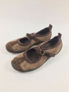 Merrell Circuit MJ Brown size 10.5, Mary Jane Style Hiking Shoes, Suede