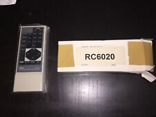 AUTHENTIC NEC RC-6020 MULTISYNC PROJECTION MONITOR RC-6020 REMOTE CONTROL OEM