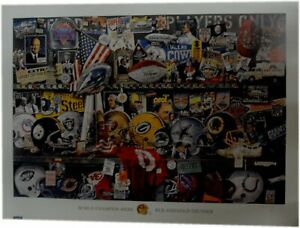 NFL Super Bowl Champions 24x32 Unsigned Lithograph Poster Print New 49ers