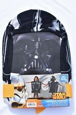 BRAND NEW Star Wars Cotton Hooded Poncho Darth Vader Towel A004