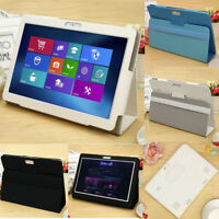 Folio Leather Stand Cover Case For 10 10.1 Inch Android Tablet PC