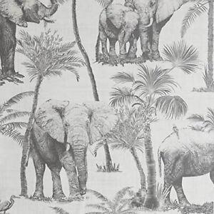 Arthouse Safari Elephant Charcoal 296700 Wallpaper