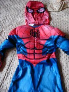 Spiderman dress up aged 3-4