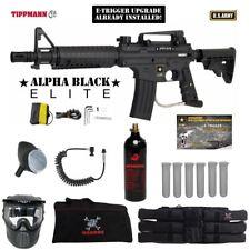 Tippmann US Army Alpha Elite Tactical E-Grip Corporal Paintball Gun Package