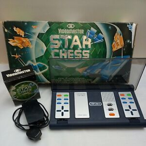Rare Vintage Videomaster Star Chess Electronic Game. plays on TV Retro Console