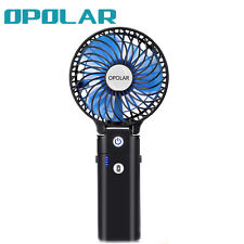 PMOPOLAR F228 Handheld Portable Fan with 5200mAh Battery, Foldable, Rechargeable