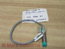 Pepperl + Fuchs NJ4-12GM-E Proximity Switch NJ412GME - New No Box