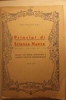 Principi di scienza nuova - Gian Battista Vico - Luigi Trevisini - 1947 - G