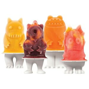 Tovolo Monster Ice Pop Molds / Popsicle Mold - Set of 4