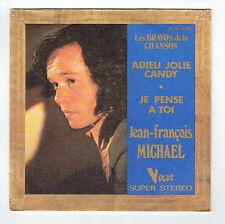 """Jean François MICHAEL Vinyle 45T 7"""" ADIEU JOLIE CANDY - VOGUE 4218 RARE"""