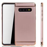 Samsung Galaxy S10 Plus Funda Estuche Móvil Funda Protector Protectora Rosado