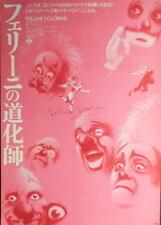 Federico Fellini ' I CLOWNS :JP movie BIG Poster theatre original poster B2 size