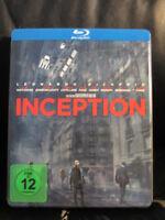 Inception Blu-Ray Steelbook [Germany] Region Free Open w/Slip Cover *Dented*