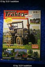 Oldtimer Traktor 11-12/08 Lanz Bulldog D 8506 & D 1506 Unimog 401 Fendt F24 L