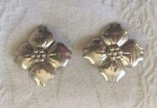 Vintage Designer CARSI Earrings Sterling Silver 925 Taxco, Mexico