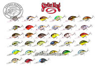 Strike King 3XD Crankbait 3 XD Extra Deep CB Series 2in 7/16oz Pick