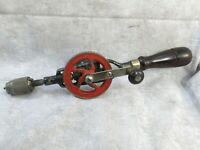 Vintage Hand Drill Millers Falls No 1 Egg Beater Hand Drill