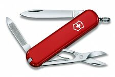 0.6503 VICTORINOX SWISS ARMY POCKET KNIFE AMBASSADOR RED NEW !