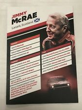 JIMMY MCRAE NETWORK Q WRC WALES RALLY GB 2017 OFFICIAL PHOTOCARD