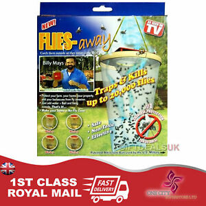NEW FLIES AWAY FLY CATCHER TRAP BAG INSECT PEST CONTROL KILLER KILL 20,000 FLIES