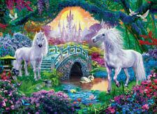 Eurographics Unicorns in Fairy Land 500 piece fantasy jigsaw puzzle NEW
