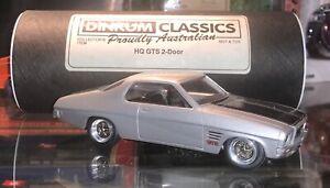 Dinkum Classics 1972 Holden HQ Monaro 2Dr Coupe Silver Black Stripes 1:43 Scale